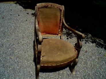 1)fauteuil restauration